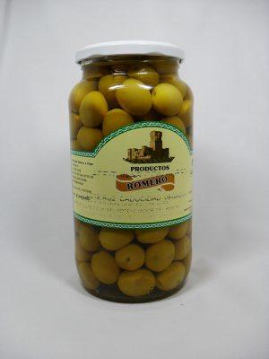 Aceitunas Manzanilla con hueso - Productos Romero