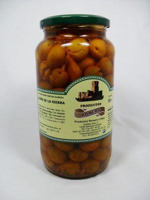 Aceitunas Aliño de la Sierra - Productos Romero