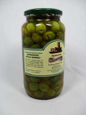 Aceitunas Chupadedos - Productos Romero
