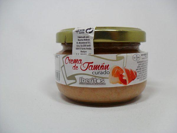 Crema de jamón curado 110gr - Iberitos
