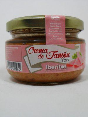 Crema de jamón york 110gr - Iberitos