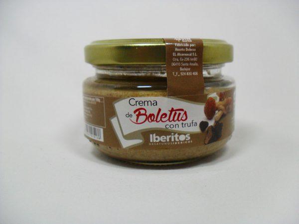 Crema de boletus con trufa 110gr - Iberitos