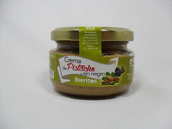 Crema de pistachos y ajo negro 110gr - Iberitos