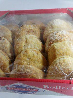 Empanadillas rellenas de cabello de angel - La Unión S. Coop.
