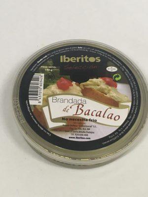 Paté de Bacalao con Ajo - Iberitos 140g